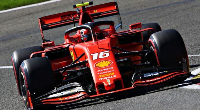 Leclerc v Spaju do premierne zmage