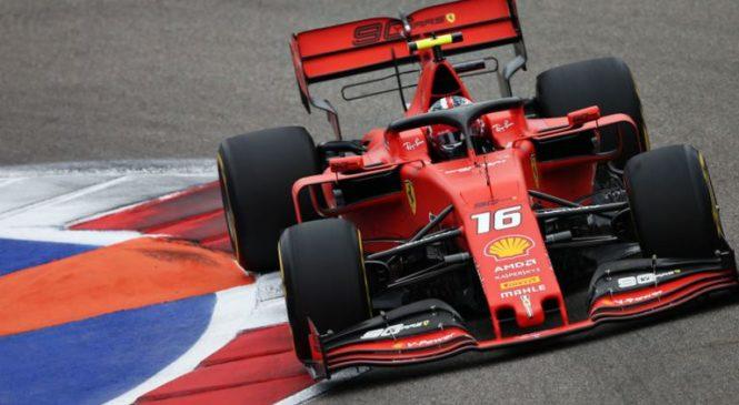Leclerc dobil kvalifikacije v Sočiju