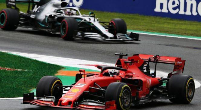 Vettel nezadovoljen s Ferrarijevo taktiko