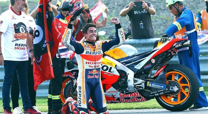 Marquez: Iz sezone 2015 sem se naučil biti konstanten
