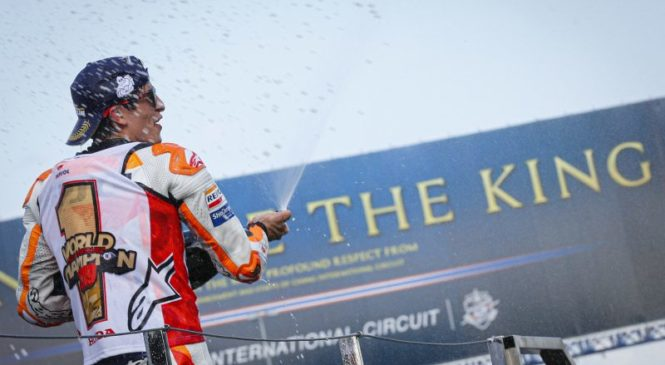 Marquez: Yamaha je lahko nevarna