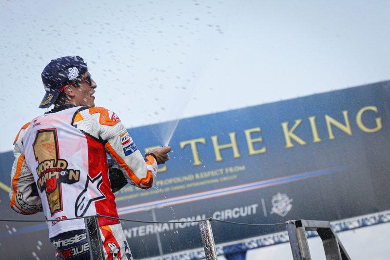 Marc Marquez the King Honda