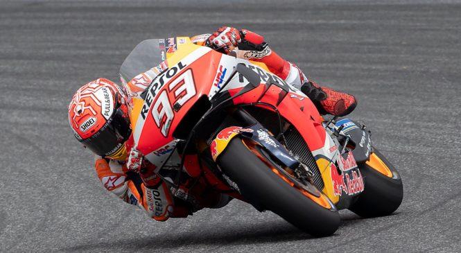 Buriram ogrevanje: Marquez pred štirimi Yamahami