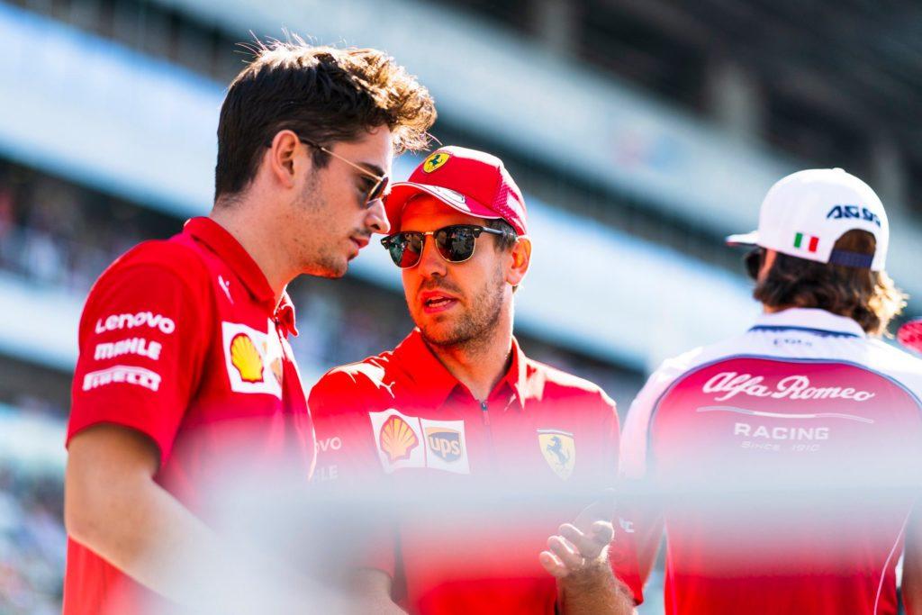 Sebastian Vettel in Charles Leclerc stopnjujeta napetosti v moštvu