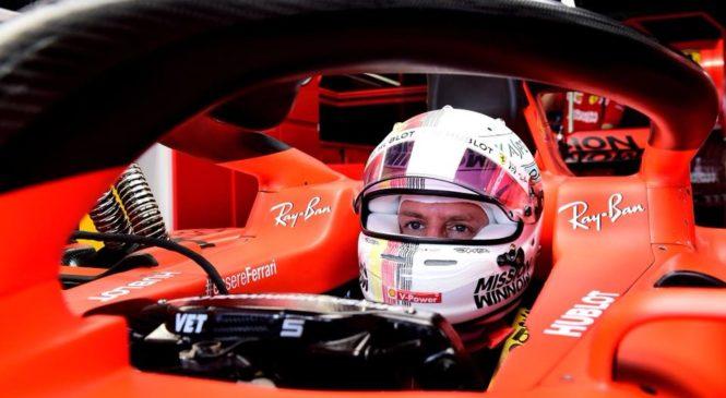 Vettel do presenetljive močne zmage na kvalifikacijah