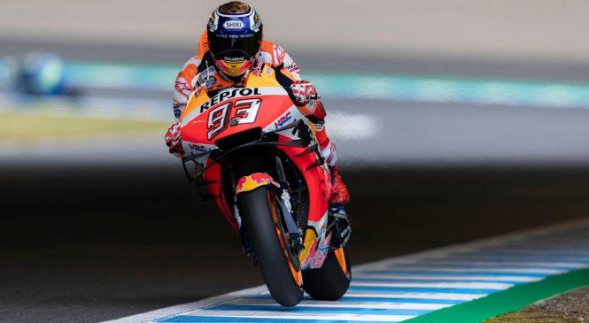 MotoGP Motegi: Marquez s prvega mesta, Morbidelli odličen drugi