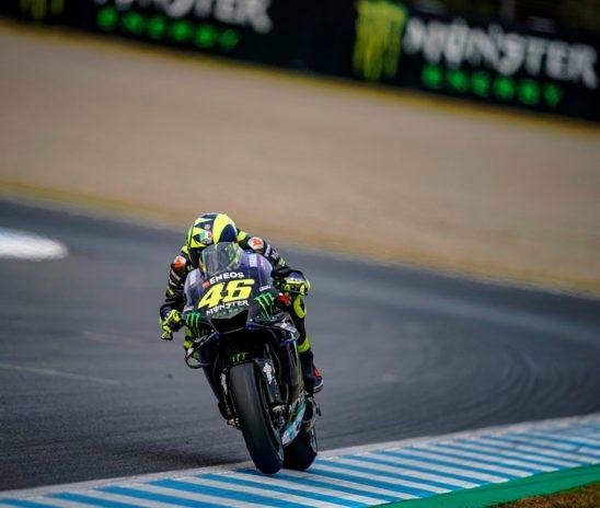 Rossi slabo začel dirko, zatem ni našel prave hitrosti