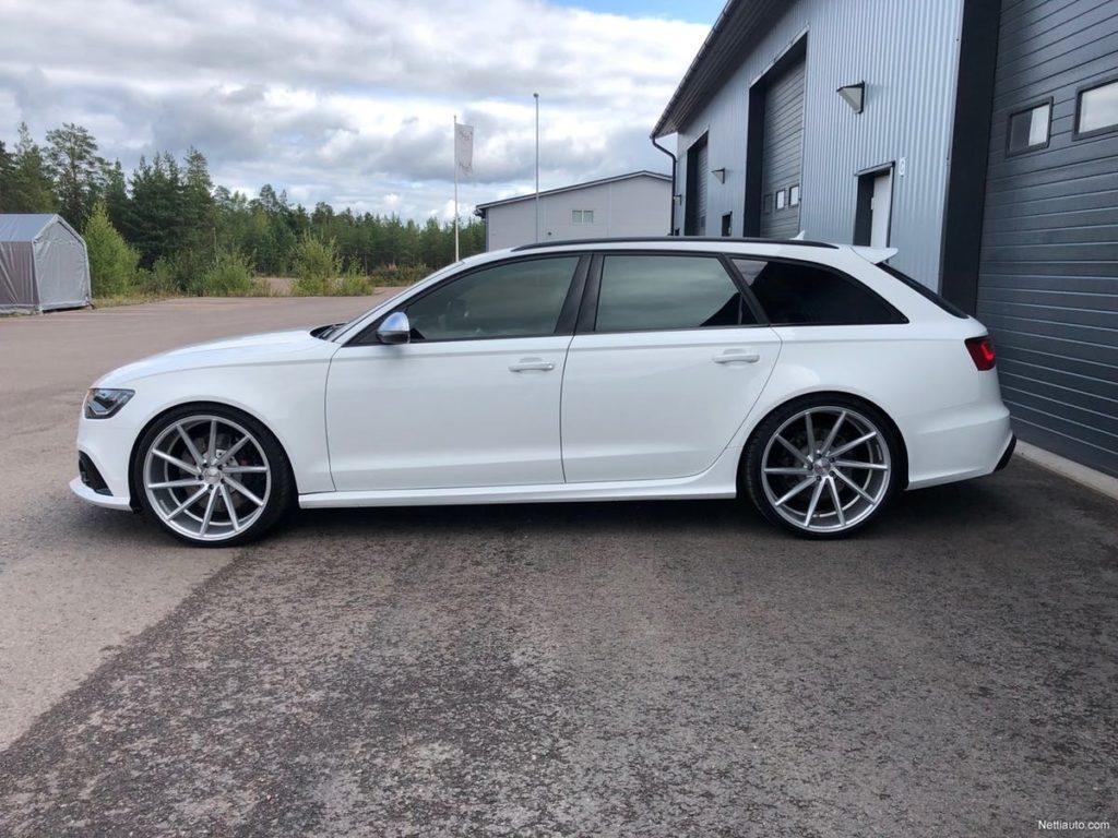Kimi Raikkonen Audi RS6