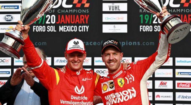 Schumacher: Vettel mi pomaga, kot moj oče njemu