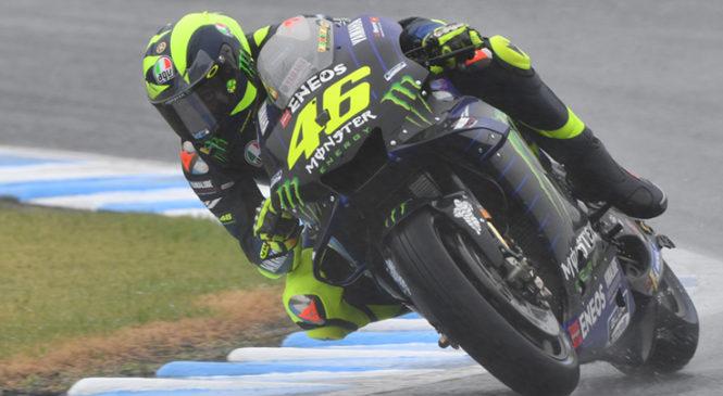Rossi zadovoljen s petkovim dnem