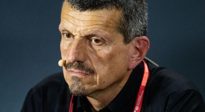 Vodja moštva Haas kaznovan zaradi žaljenja komisarja dirke