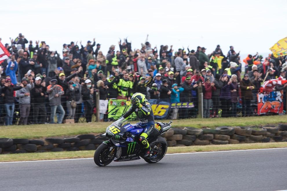 Valentino Rossi Yamaha M1 2019