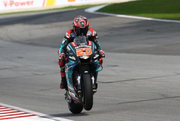 Fabio Quartararo Yamaha MotoGP dobil tudi drugi trening