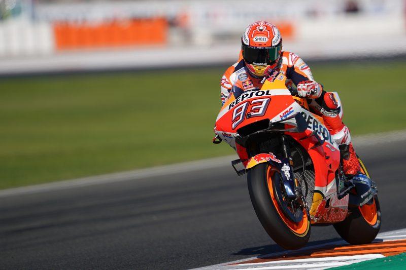 Marc Marquez sezono okronal z zmago v Valencii