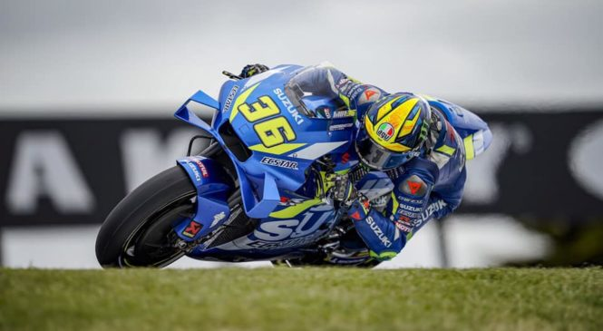 MotoGP Sepang: Mir na ogrevanjih zasenčil Yamahe