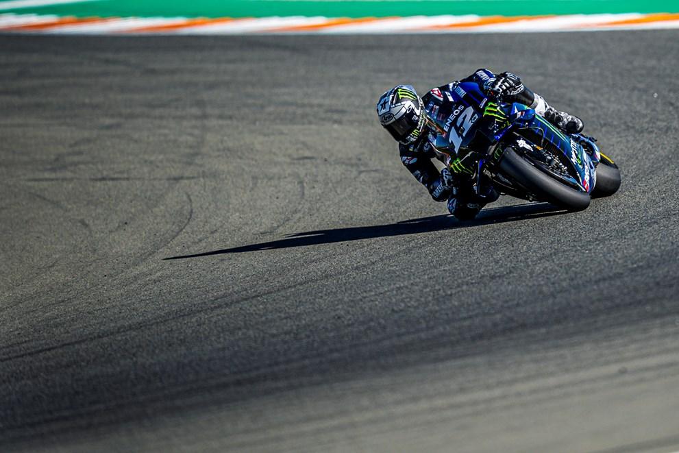 Maverick Vinales je testranj v Valencci končal kot najhitrejši