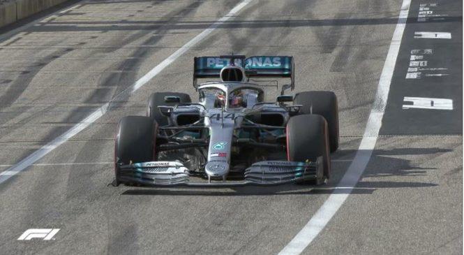 Hamilton v Austinu zapečatil šesti naslov prvaka F1