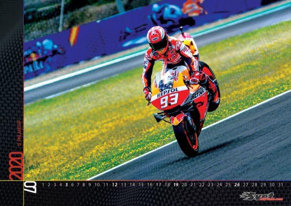 Marc Marquez A3 stenski koledar za leto 2020