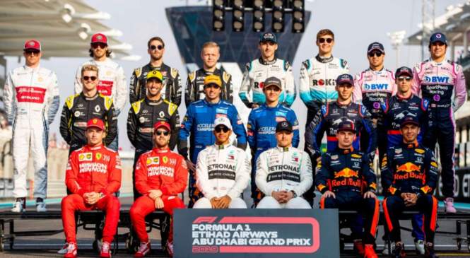 Lewis Hamilton dirkač sezone po izboru dirkaških tekmecev
