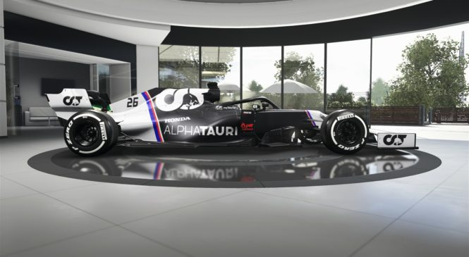 Moštvo AlphaTauri potrdilo datum predstavitve dirkalnika
