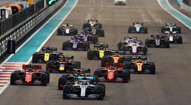 Hamiltonu finale v Abu Dhabiju