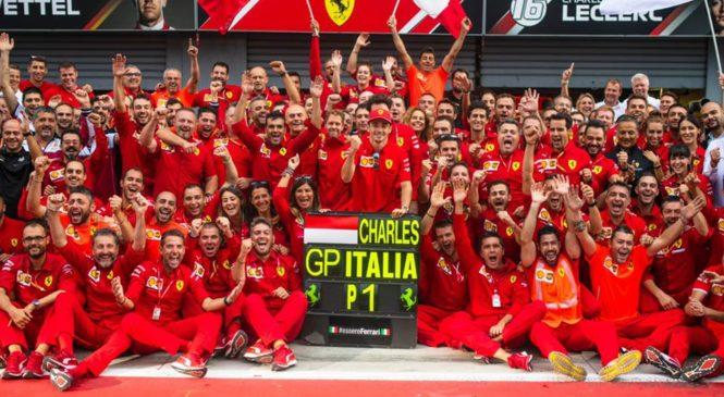 Leclerc s Ferrarijem podpisal novo pogodbo do konca 2024