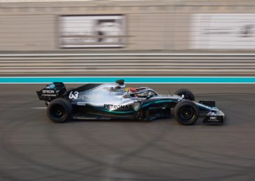 Russell z Mercedesom opravil testiranje 18-palčnih gum