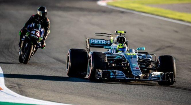 Rossi se je zavrtel, Hamilton priznal da je padel