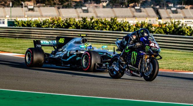 Rossi: Počutil sem se kot pravi dirkač Formule 1 (Foto)