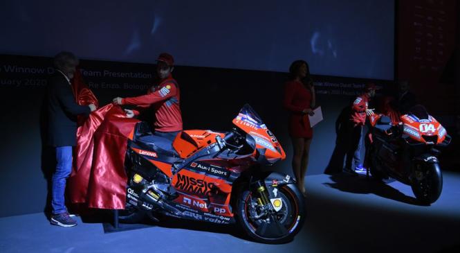 Pri Ducatiju odločeni končati Marquezovo prevlado