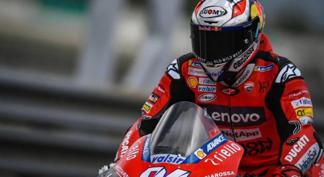 """Dovizioso ob padcu odnesel le s """"trdim"""" vratom, skrbita ga Yamaha in Suzuki"""