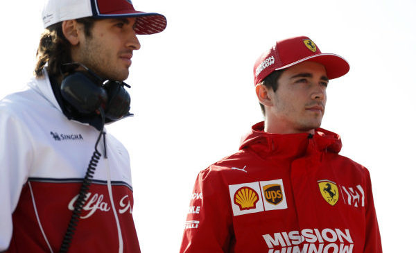 Giovinazzi samozavesten glede možnosti prestopa k Ferrariju leta 2021