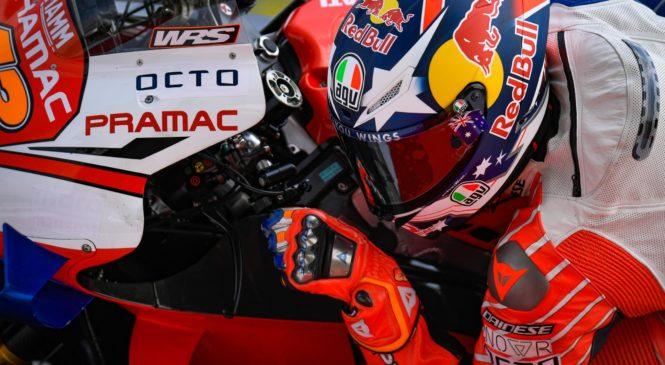 Miller zadovoljen z novim Ducatijevim motorjem