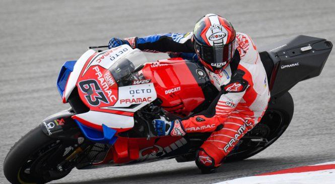 Bagnaia: Ducati GP20 pomaga izboljšati moje šibke točke