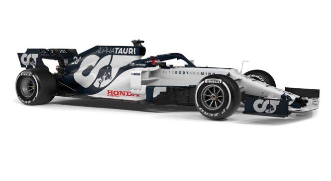 Red Bullovo moštvo Alpha Tauri predstavilo prvi dirkalnik F1