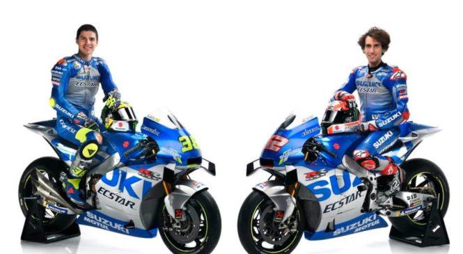 Suzuki v sezono z novo barvno poslikavo