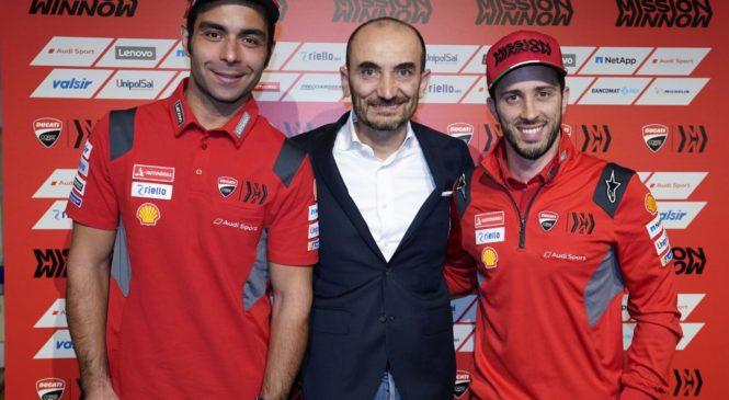 Domenicali: Za Ducati imeti italijanskega dirkača ni ključno