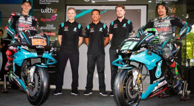 Tudi Petronas Yamaha razkrila letošnji motocikel