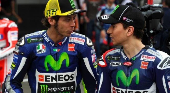 Rossi prepričeval Yamaho, da pripelje Lorenza