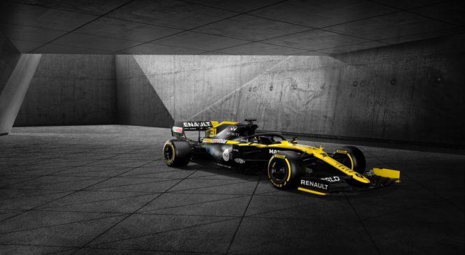 Renault predstavil letošnje barve in novega sponzorja