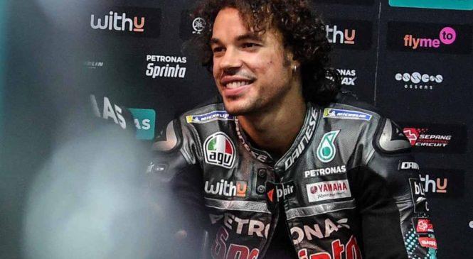 Morbidelli ostaja dirkač Petronas Yamahe