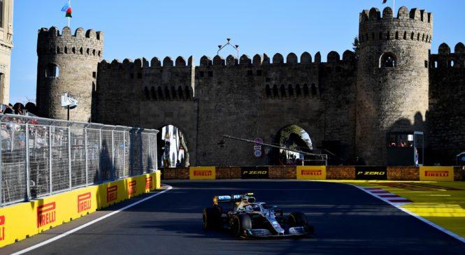 Prestavljena tudi dirka v Bakuju