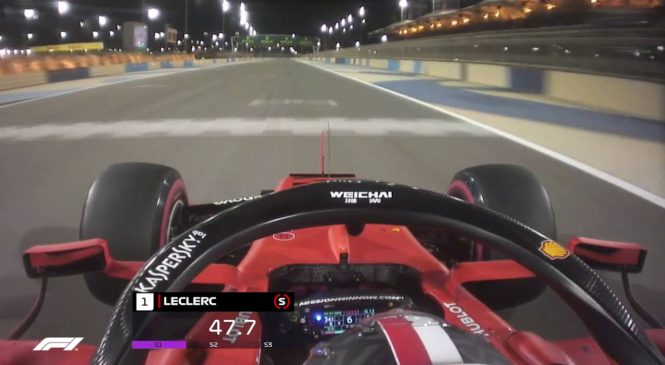 "VIDEO: Leclercov prvi ""pole position"" v karieri"