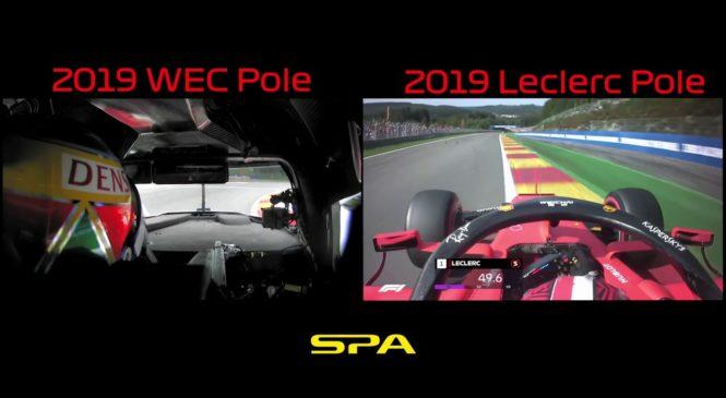 VIDEO: Onboard primerjava kvalifikacijskega kroga v Spaju F1 – WEC