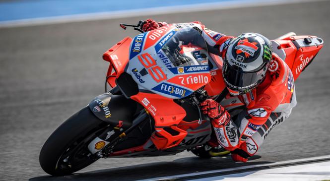 Lorenzo: Z Ducatijem bi lahko konkuriral Marquezu