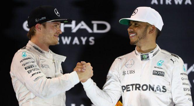Rosberg: Morda nisem bil tako talentiran kot Hamilton