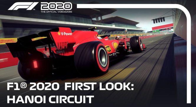 VIDEO: Takšna bo steza v Vietnamu v igri F1 2020