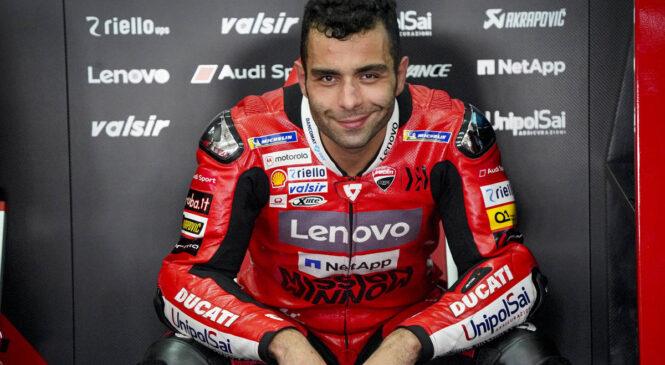Petrucci bo Ducati zamenjal za KTM