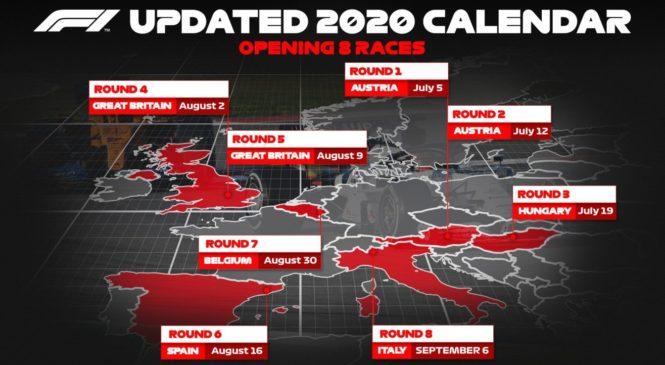 Potrjenih prvih 8 dirk letošnjega koledarja F1