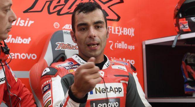 Petrucci potrdil, da zapušča Ducati